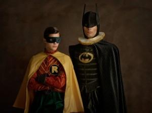 Cosplay Batman e Robin