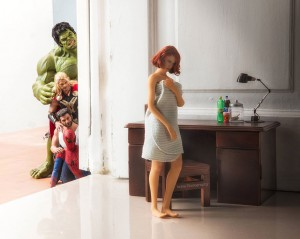 THE SECRET LIFE OF SUPERHERO TOYS BY EDY HARDJO