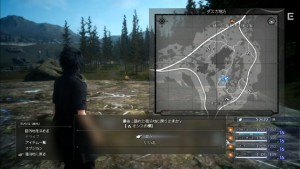 Final Fantasy XV Mappa Episode Duscae