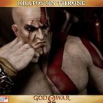 Kratos on Throne