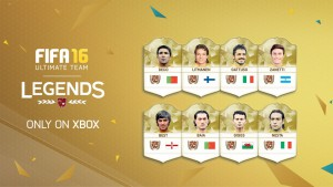 FIFA 16 Ultimate Team Nuove Leggende