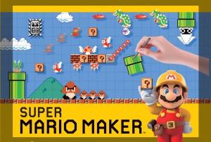 Suoer Mario Maker Wii U