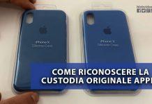 Custodia Originale Apple vs Falsa