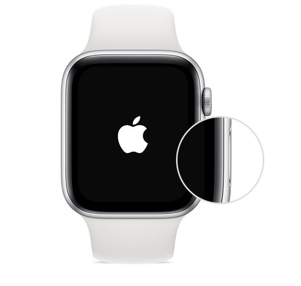 pulsante accensione Apple Watch